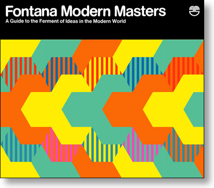 Fontana Modern Masters double-sided promotional poster